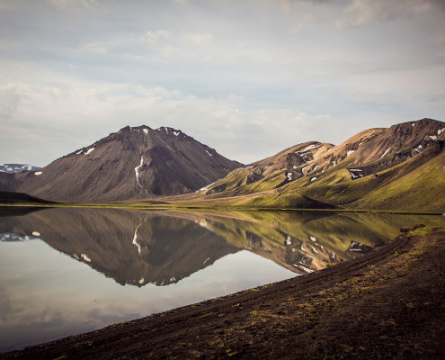 Icelandic back country.