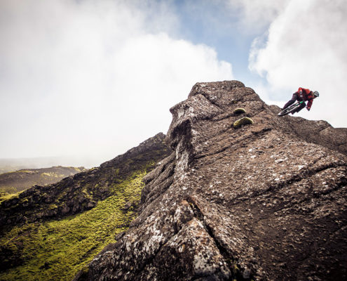 Best technical singletrack in iceland