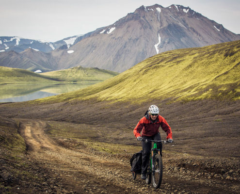 xc riding in iceland