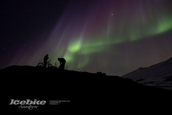 Northen light bike trip